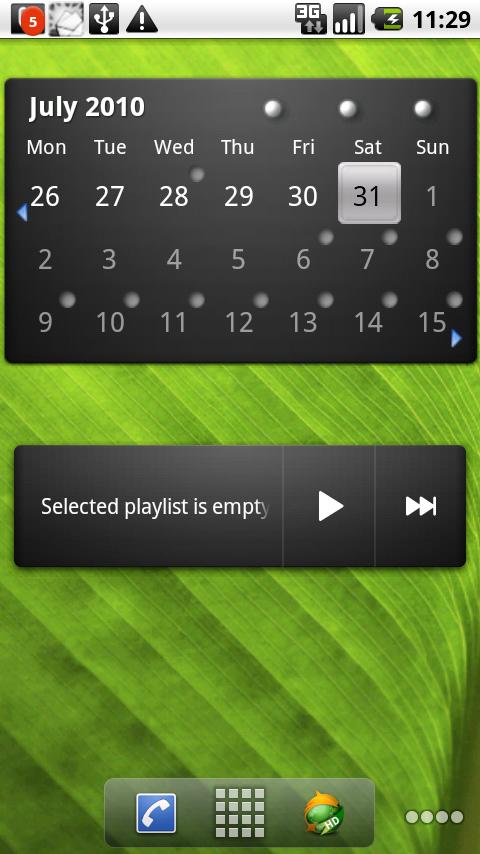 apks 4 You: Pure Grid Calendar Widget  apk